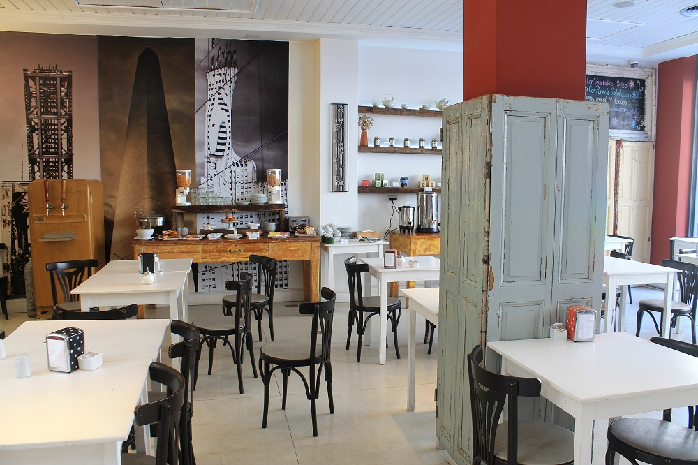 Patios de San Telmo Boutique Hotel - Buenos Aires Argentina Review - Deli Restaurant