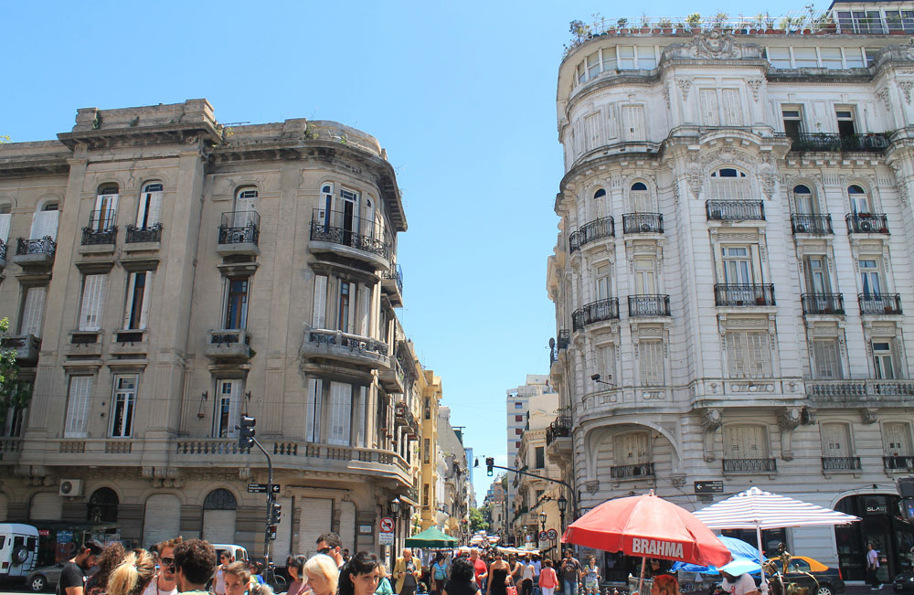 Patios de San Telmo Boutique Hotel - Buenos Aires Argentina Review - Sunday Market