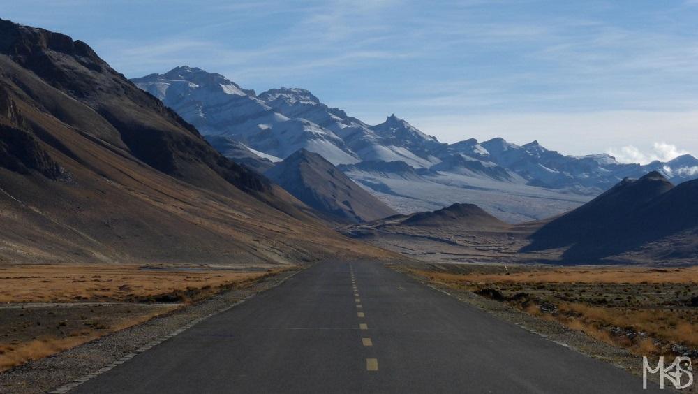 Best Road Photos around the World - Tibet China