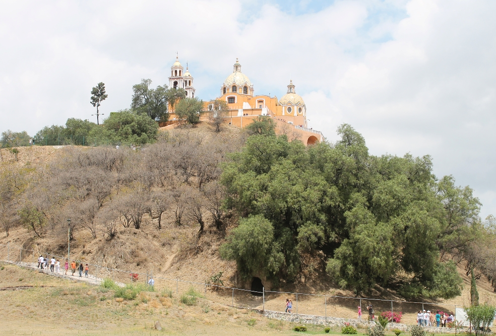 8 Best Colonial Towns and Cities in Mexico - Cholula Pyramid