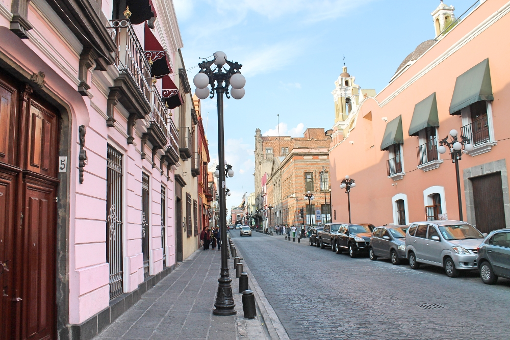 8 Best Colonial Towns and Cities in Mexico - Puebla Street