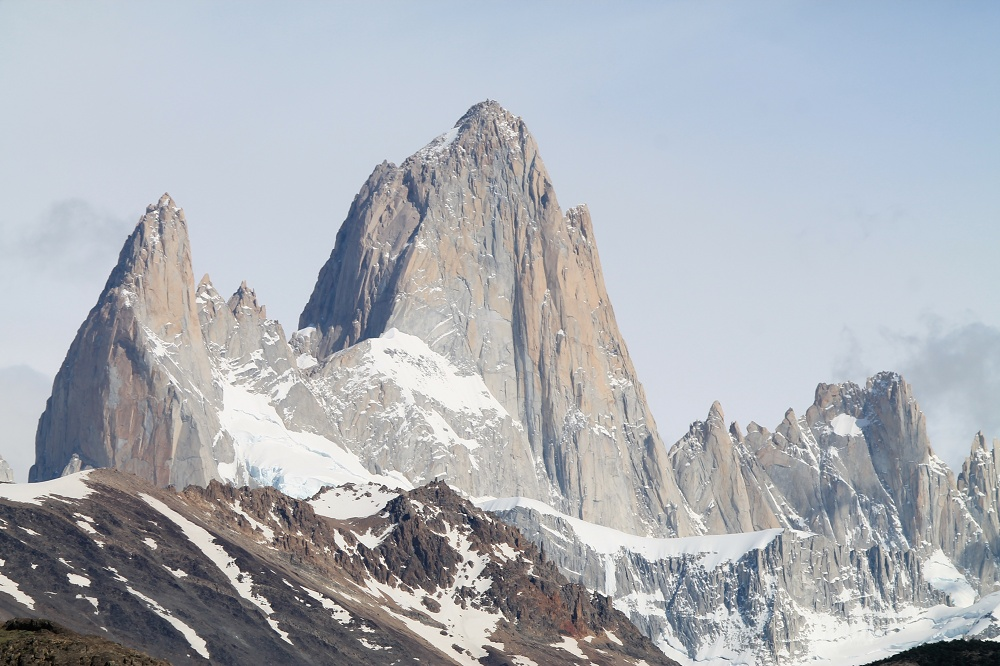 Laguna de los Tres - Day Hike Mount Fitz Roy in Patagonia, Argentina