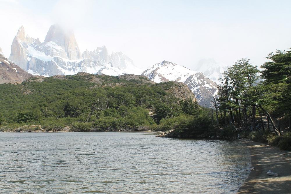 Laguna de los Tres - Day Hike Mount Fitz Roy in Patagonia, Argentina- Laguna Capri