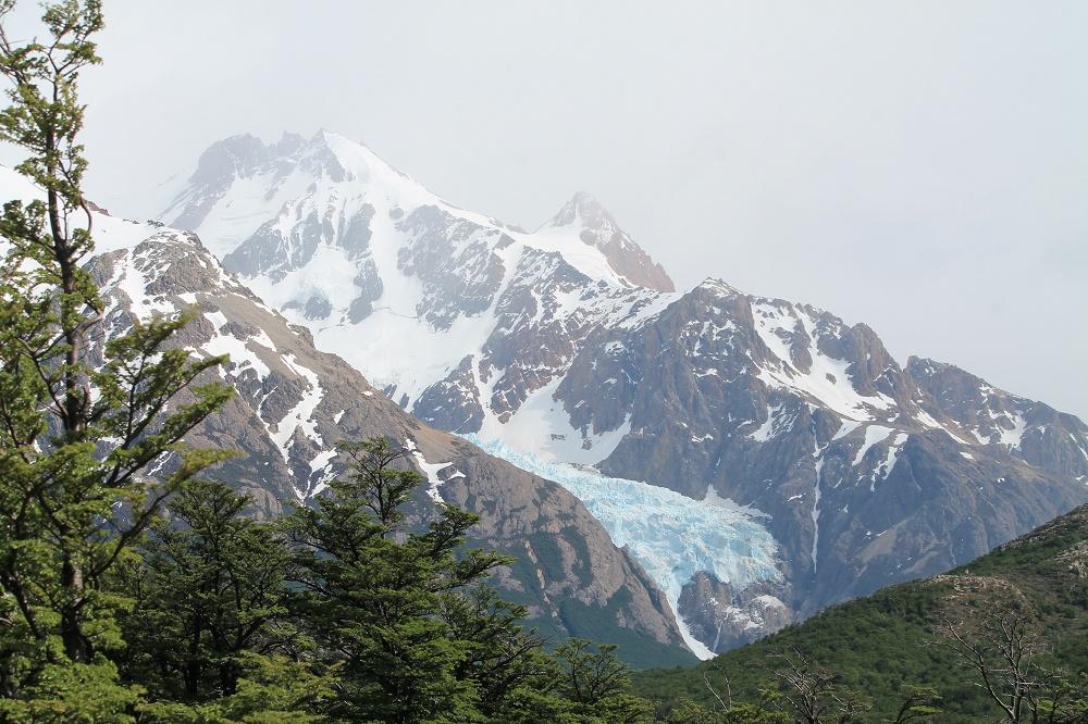 Laguna de los Tres - Day Hike Mount Fitz Roy in Patagonia, Argentina- Glacier