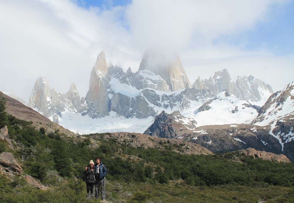 Laguna de los Tres - Day Hike Mount Fitz Roy in Patagonia, Argentina- Trek