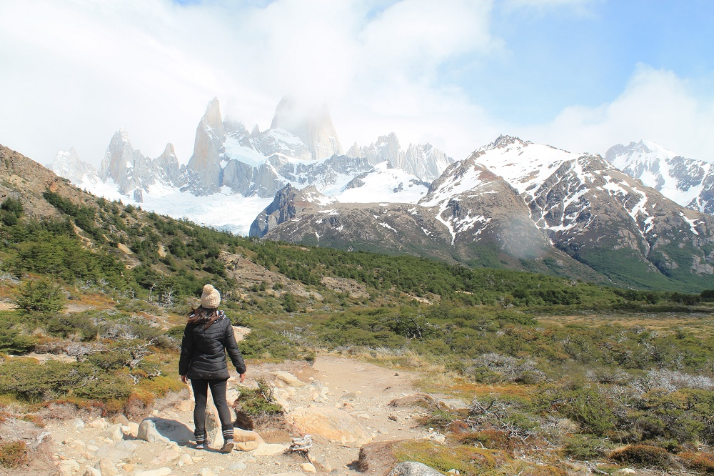 Laguna de los Tres - Day Hike Mount Fitz Roy in Patagonia, Argentina - Trek View