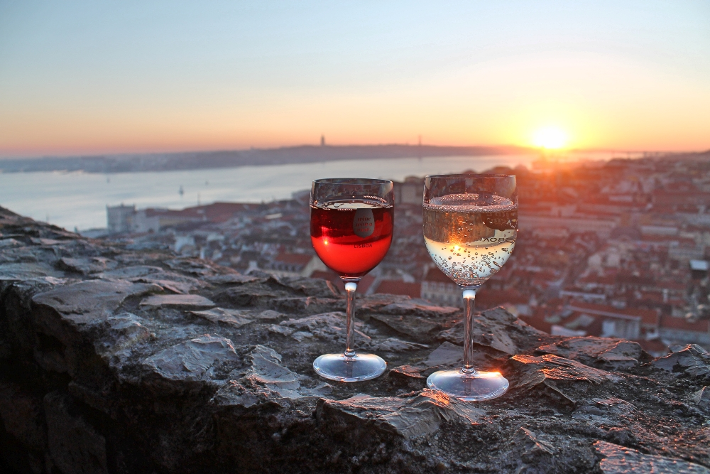 5 Days in Portugal - Lisbon, Sintra and Porto - Sunset in San Jorge