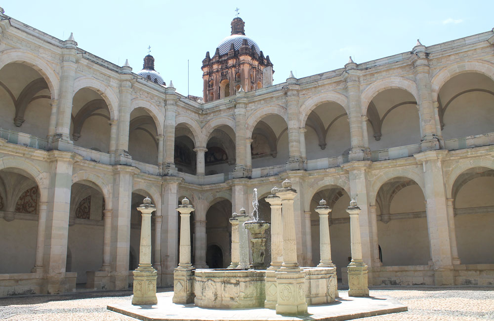 8 Best Colonial Towns and Cities in Mexico - Oaxaca Monastery