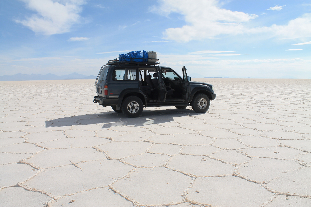 3 Day Slat Flat Tour Salar de Uyuni Bolivia - Car