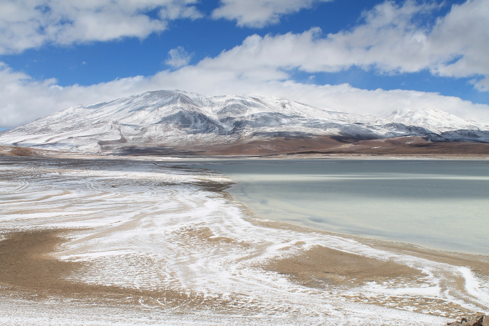 3 Day Slat Flat Tour Salar de Uyuni Bolivia - Laguna Blanca White Lake Border