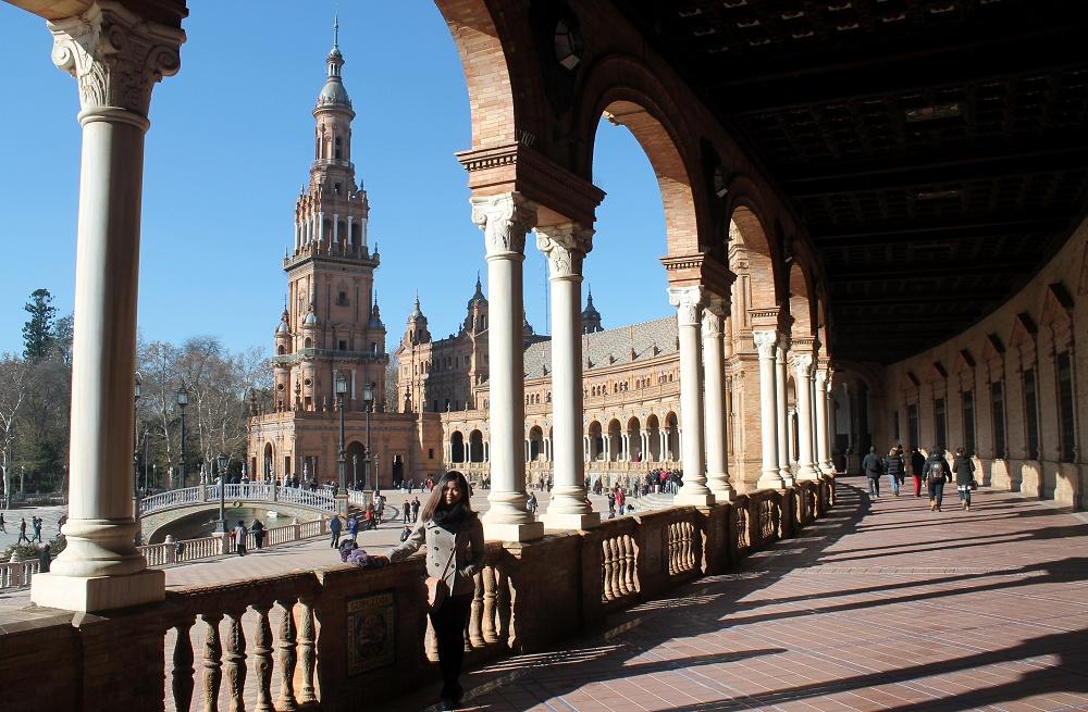 Winter in Andalusia Spain - 10 Days Seville Cordoba Granada - Plaza de Espana de Seville