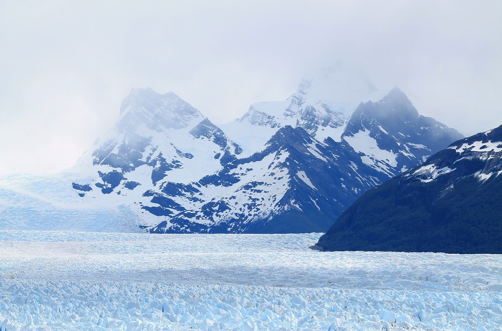 Perito Moreno Glacier - Natural Wonder in Patagonia, Argentina - Extent of the Ice