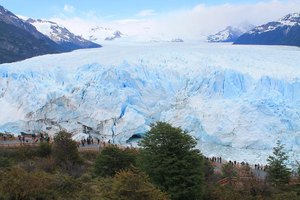 Perito Moreno Glacier - Natural Wonder in Patagonia, Argentina - A Growing Glacier