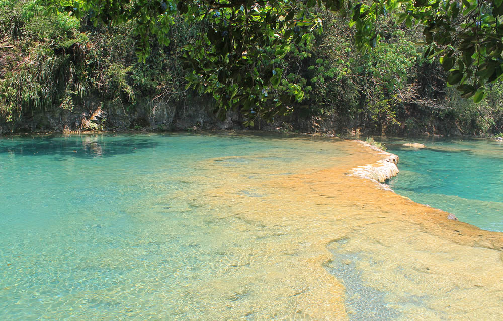 Semuc Champey Not So Off the Beaten Track Destination Guatemala - Natural Pools