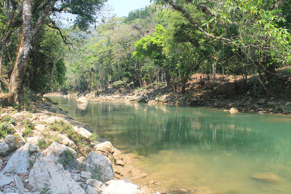Semuc Champey Not So Off the Beaten Track Destination Guatemala - Cahabon River