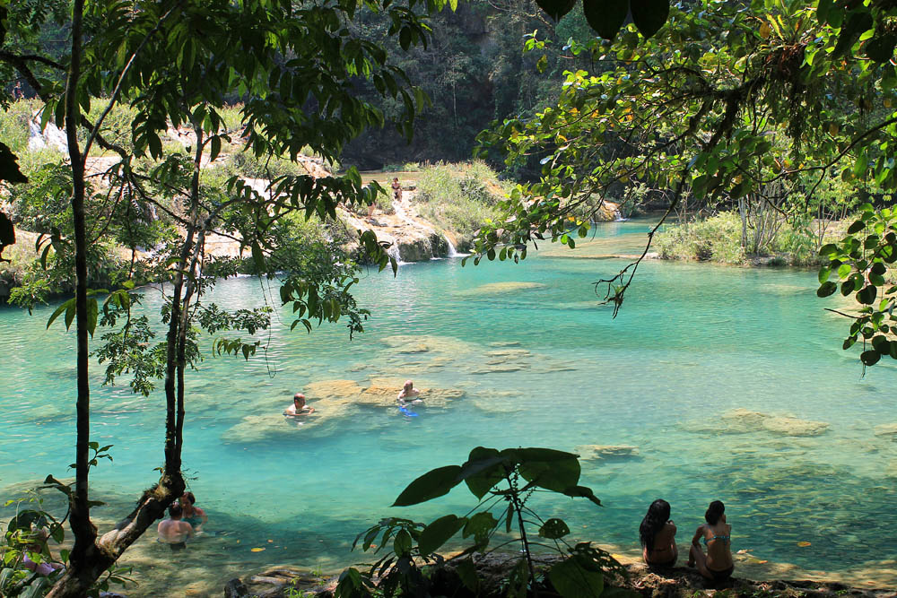 Semuc Champey Not So Off the Beaten Track Destination Guatemala - Natural Pools Swimming