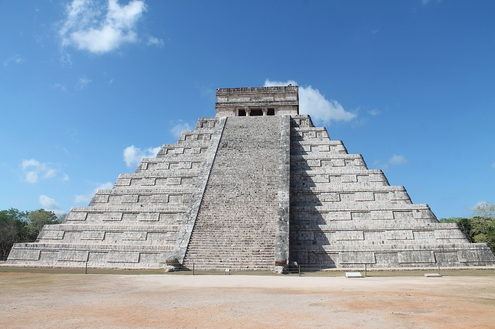 Wonder of the World Chichen Itza El Castillo