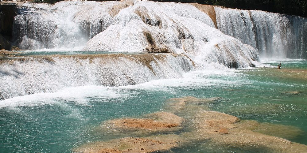 Cascadas de Agua Azul and Palengqui Ruins - Day Tour in Palenque Mexico