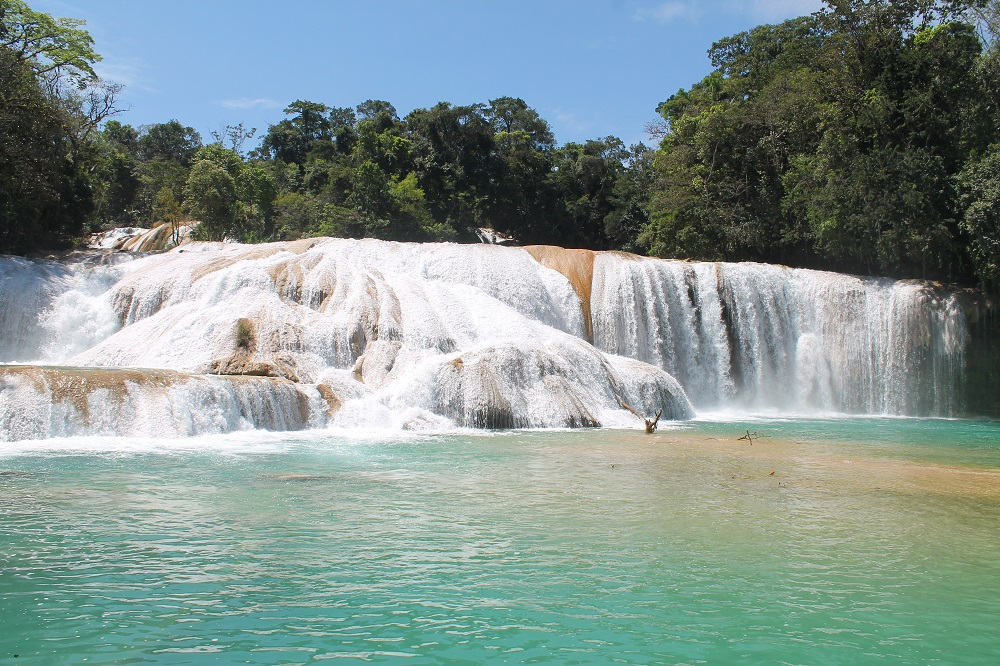 Cascadas de Agua Azul and Palengqui Ruins - Day Tour in Palenque Mexico - Blue Waterfalls
