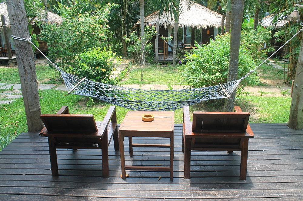 Koh Kood Resort Bang Bao Bay Thailand Review - Front Porch