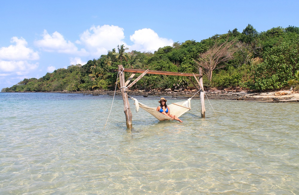 Koh Kood Resort Bang Bao Bay Thailand Review - Hammock