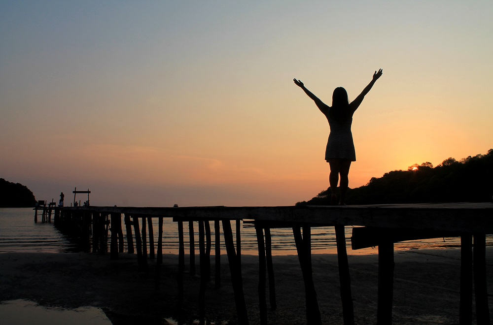 Koh Kood Resort Bang Bao Bay Thailand Review - Pier Sunset