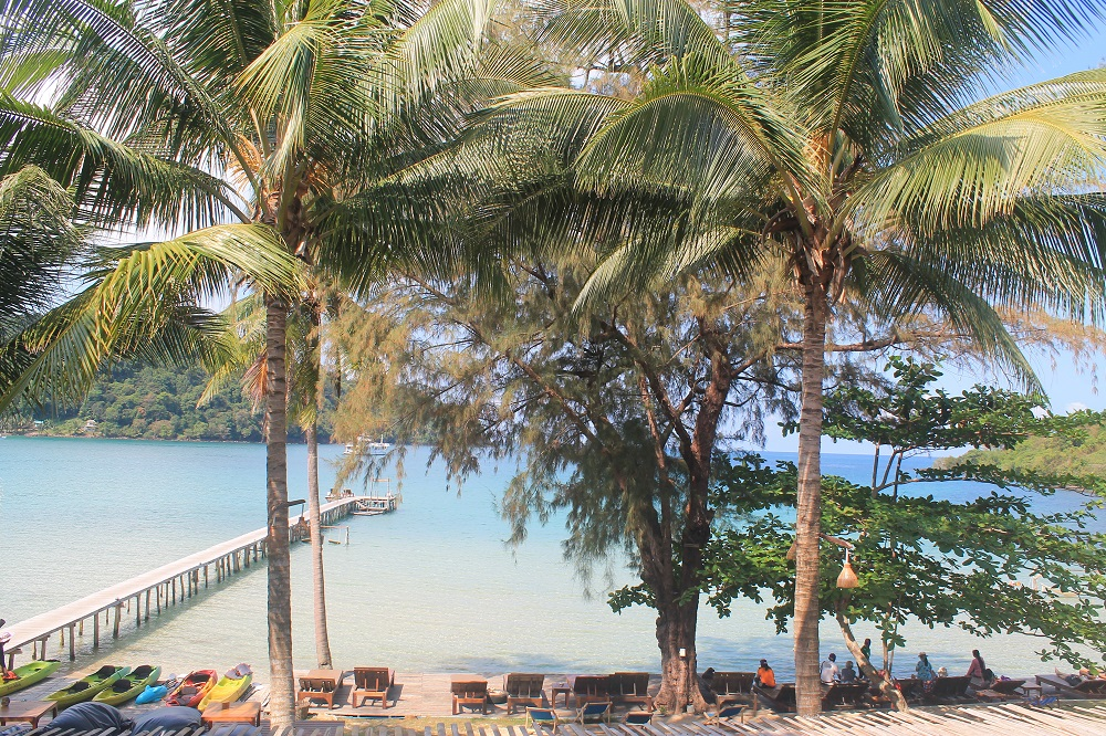 Koh Kood Resort Bang Bao Bay Thailand Review - Restaurant View