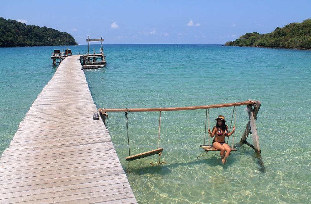 Koh Kood Resort Bang Bao Bay Thailand Review - Swing