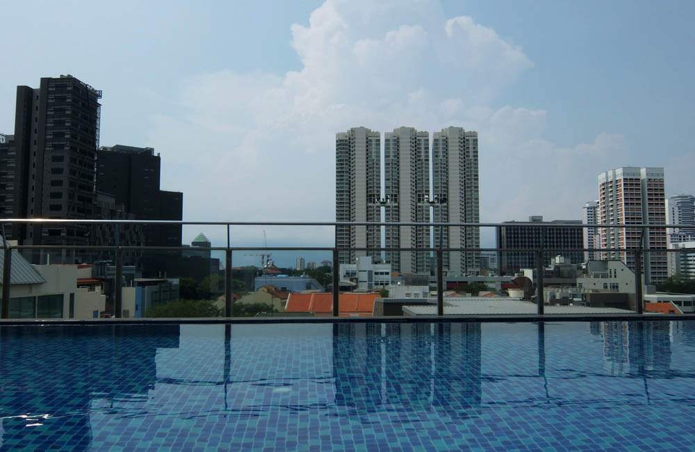 Parc Sovereign Hotel - Tyrwhitt - Mid Range Hotel in Singapore - Review - Pool Area
