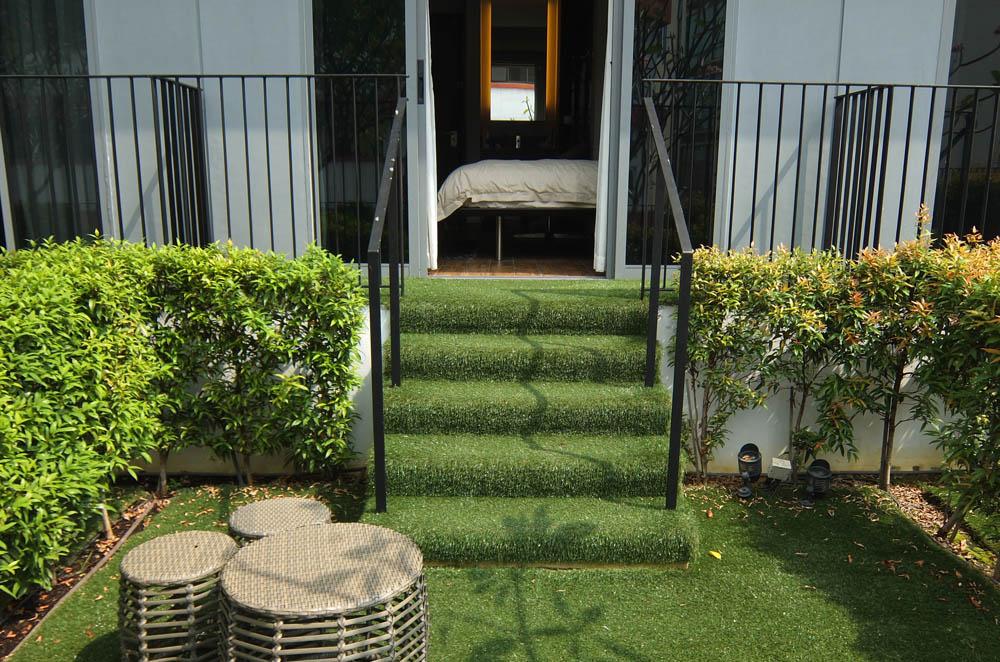 Parc Sovereign Hotel - Tyrwhitt - Mid Range Hotel in Singapore - Review - Garden View