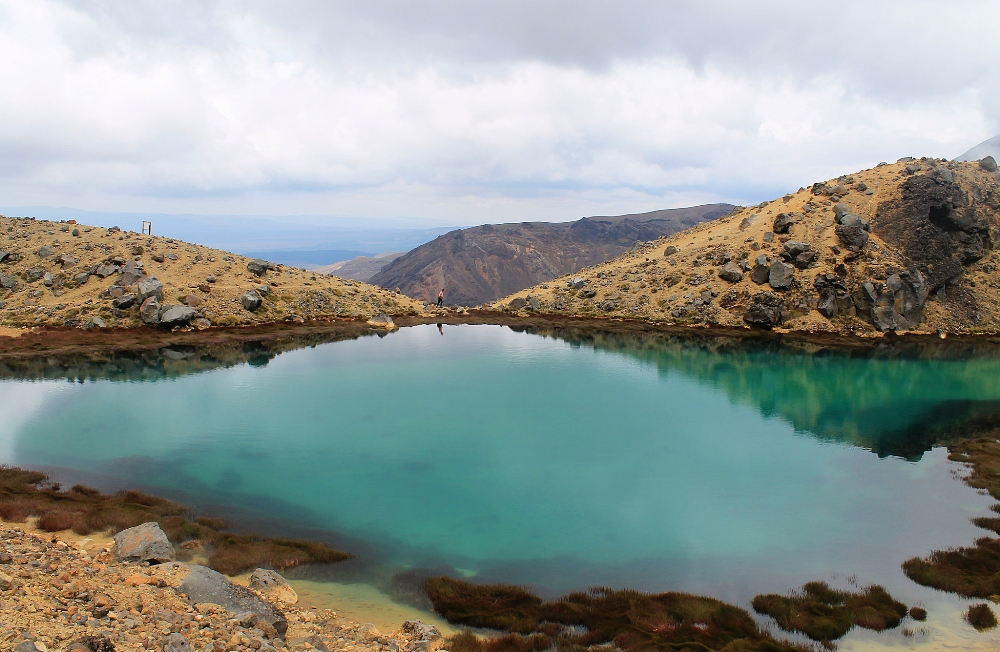 Tongariro Alpine Crossing - Best Trek - New Zealand - Emerald Lake