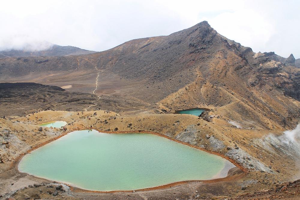 Tongariro Alpine Crossing - Best Trek - New Zealand - Lakes Volcanoes