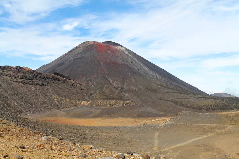 Tongariro Alpine Crossing - Best Trek - New Zealand Mount Ngauruhoe - Mount Doom - LOTR
