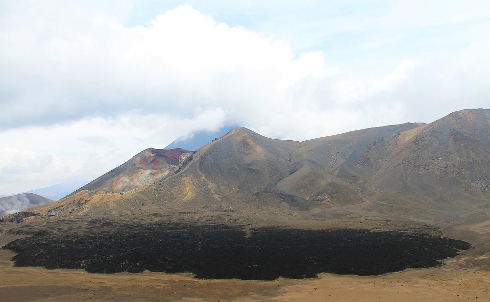 Tongariro Alpine Crossing - Best Trek - New Zealand - North Crater