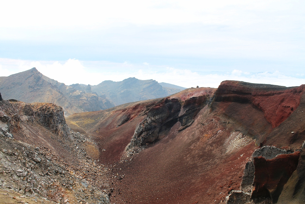 Tongariro Alpine Crossing - Best Trek - New Zealand - Red Crater