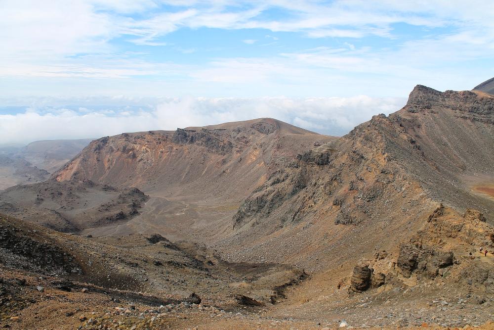 Tongariro Alpine Crossing - Best Trek - New Zealand - South Crater