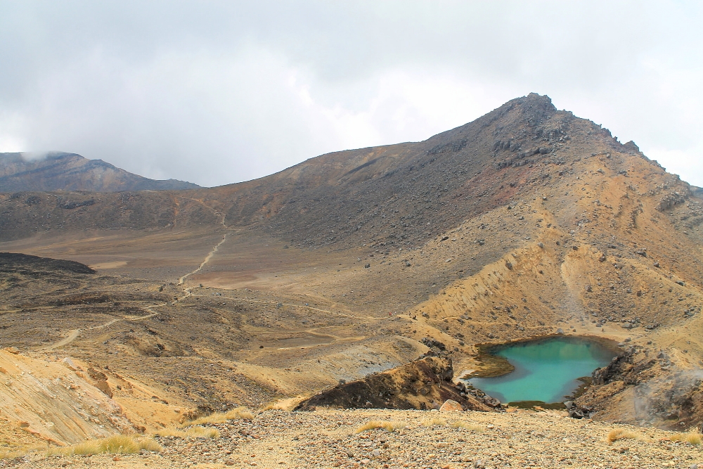 Tongariro Alpine Crossing - Best Trek - New Zealand - Volcanic Landscape