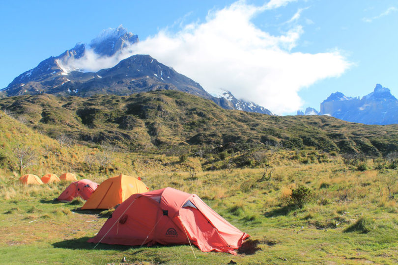 Torres del Paine W Trek in 4 Days - Camping Grounds