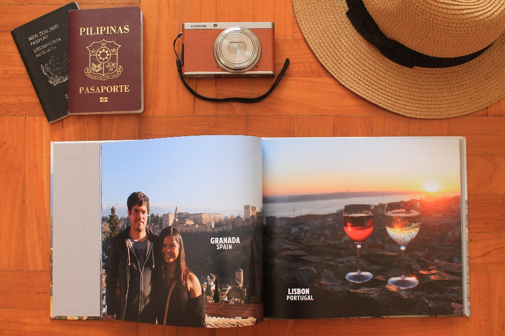 Creative Way to Preserve Travel Memories - Blurb Photo Book - Around the World - Spain Portugal