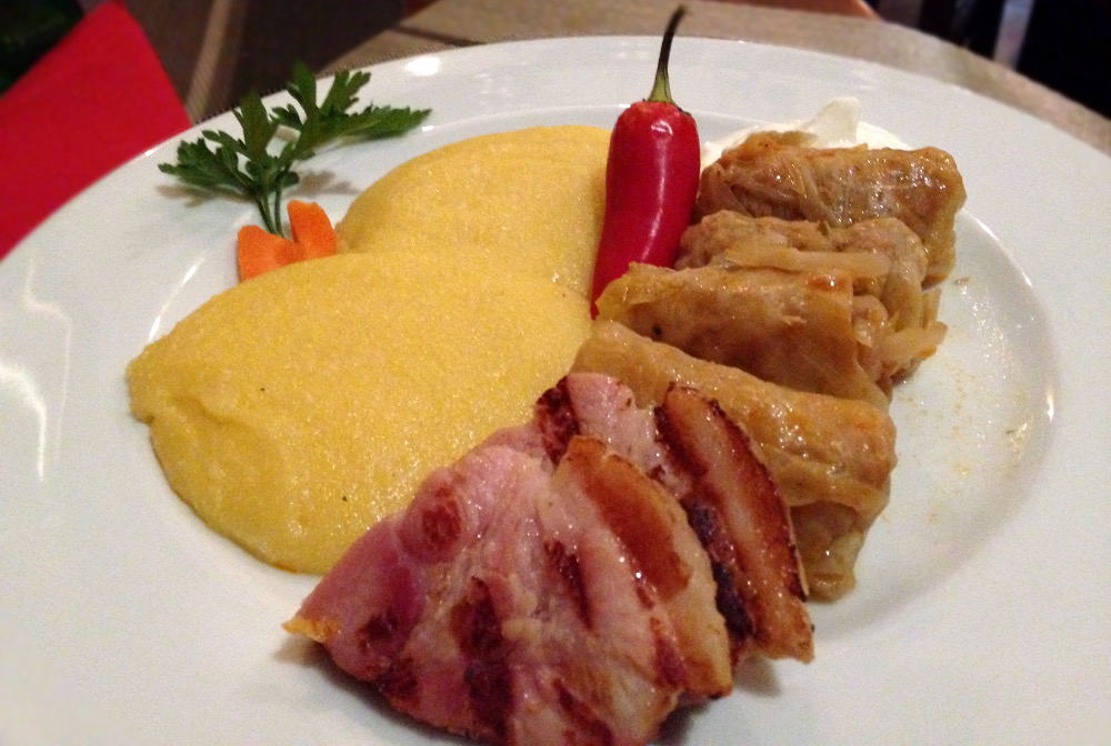 Local Romanian food during our One Week in Transylvania - Sarmale