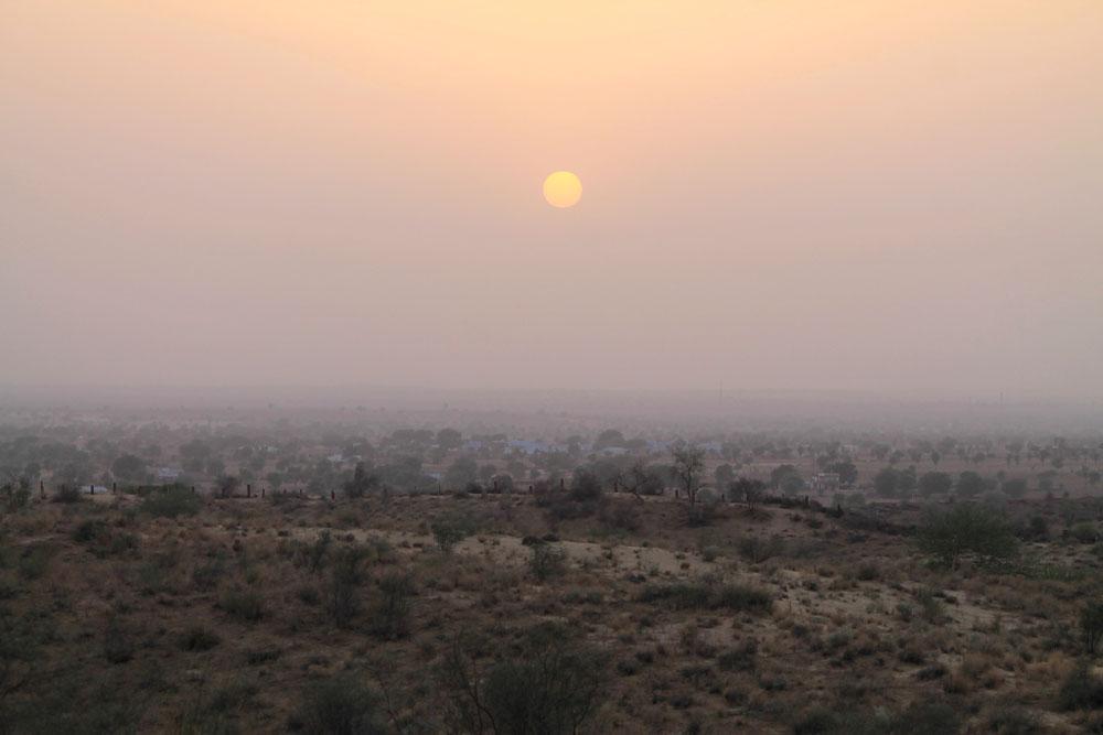 Sunset - Camp Thar - Osian - Desert Sand Dunes