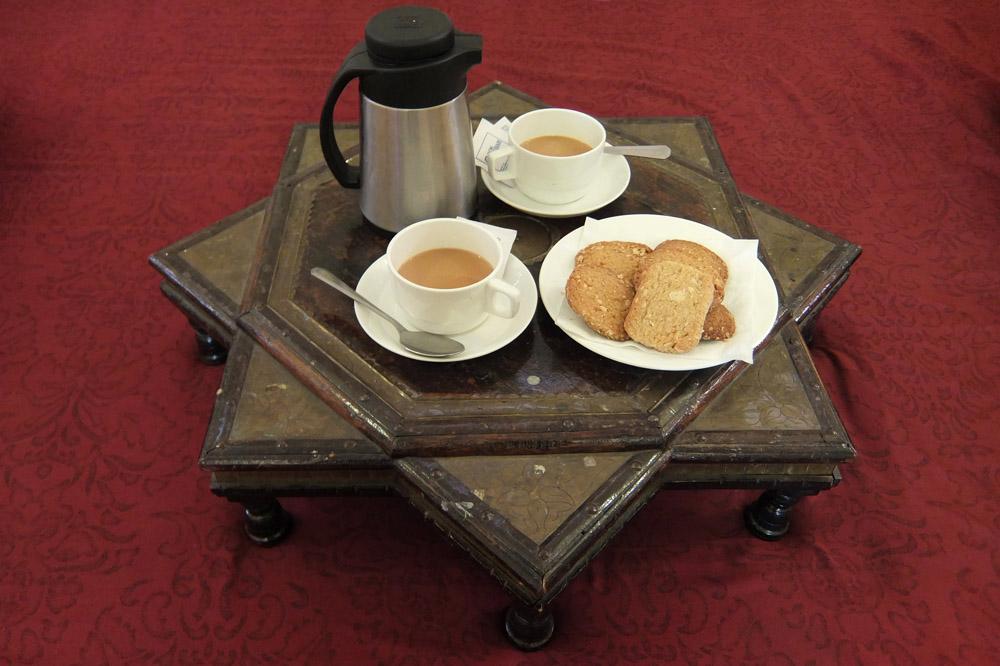 nahargarh-ranthambore-hotel-review-india -tea