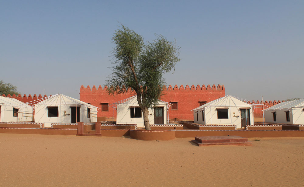 Osian Desert Camp - Camp Thar - Rajasthan India
