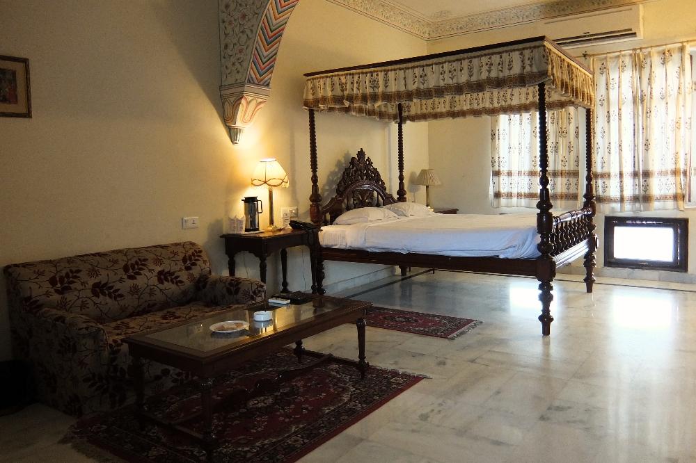 Beautiful Hotel of Amar Mahal Orchha India