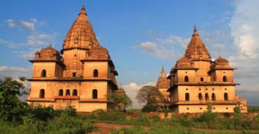 Chhatris of Orchha, India