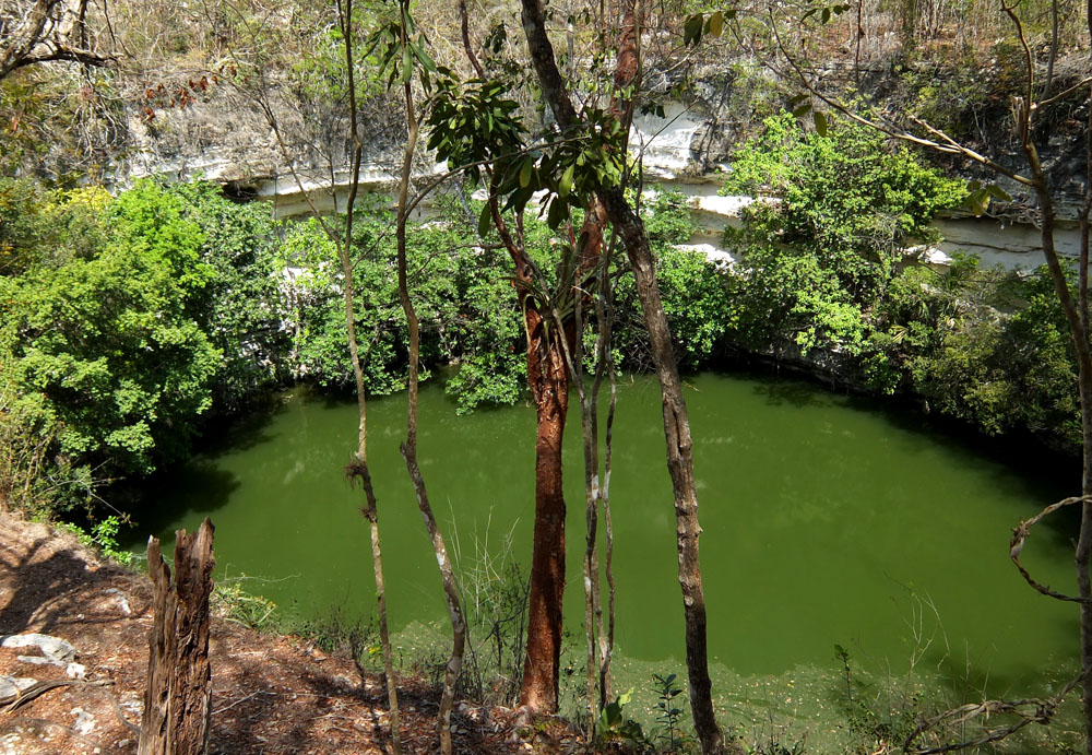 Sacred Cenote - Best Ancient Ruins and Pyramids in Mexico
