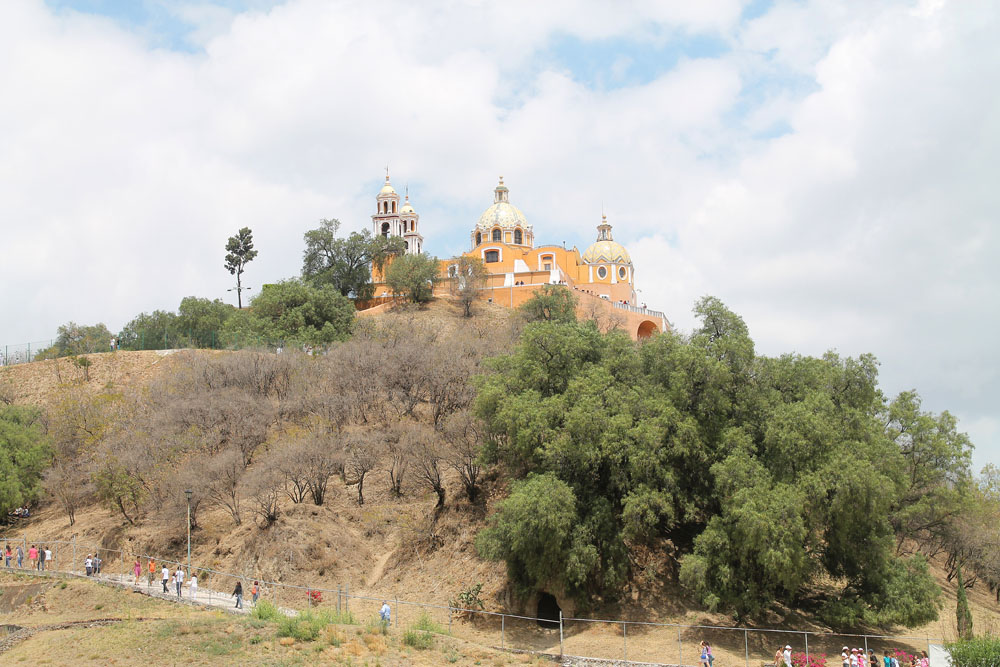 Pyramid of Cholula -Best Ancient Ruins and Pyramids in Mexico