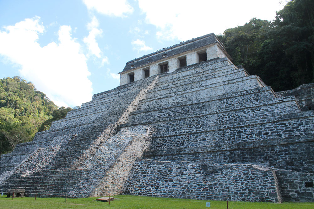 Temple of the Inscriptions in Palenque - Best Ancient Ruins and Pyramids in Mexico