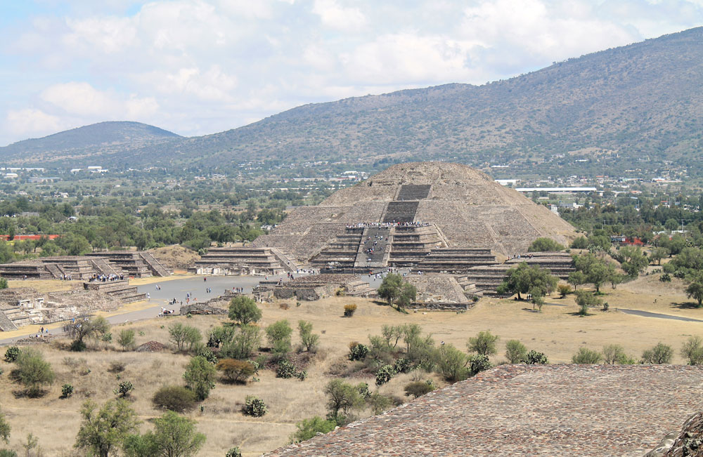 Pyramid of the Moon in Teotihuacan - Best Ancient Ruins and Pyramids in Mexico