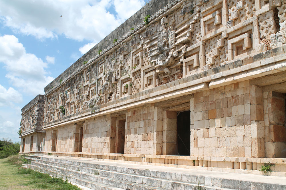 House of the Governor in Uxmal - Best Ancient Ruins and Pyramids in Mexico